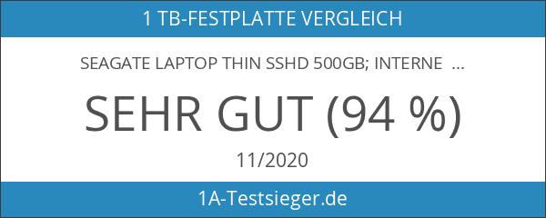 """Seagate Laptop Thin SSHD 500GB; interne Hybrid-Festplatte; 2.5"""" Flash-Speicher 8GB"""
