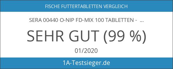 sera 00440 O-nip FD-mix 100 Tabletten - Die Hafttablette mit