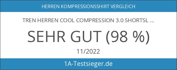 TREN Herren COOL Compression 3.0 Shortsleeve Tee Shirt Kompressionsshirt Kurzarm