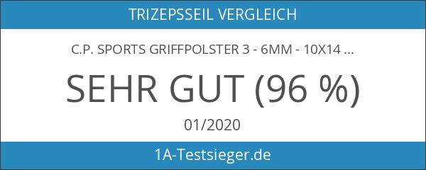 C.P. Sports Griffpolster 3 - 6mm - 10x14cm gold und