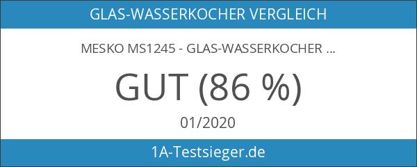 Mesko ms1245-Glas-Wasserkocher