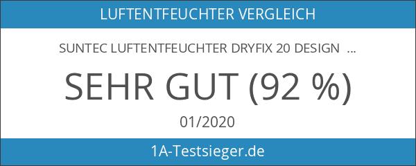 SUNTEC Luftentfeuchter DryFix 20 Design [Für Räume bis 150 m³