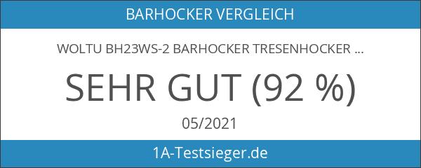 WOLTU BH23ws-2 Barhocker Tresenhocker