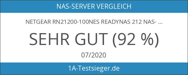 NETGEAR RN21200-100NES READYNAS 212 NAS-System
