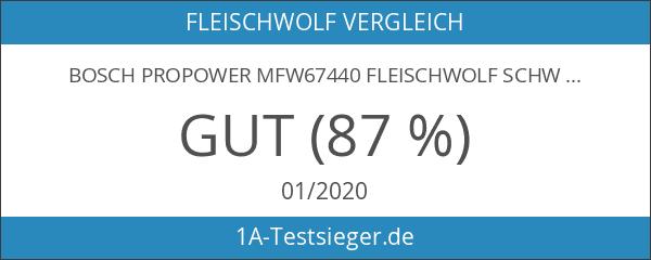 Bosch ProPower MFW67440 Fleischwolf schwarz