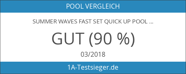 Summer Waves Fast Set Quick Up Pool