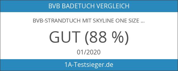 BVB-Strandtuch mit Skyline one size