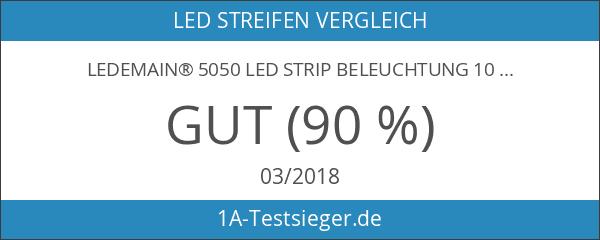 LEDemain® 5050 Led Strip Beleuchtung 10M 300 Leds