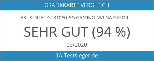 Asus Dual-GTX1060-6G Gaming Nvidia GeForce Grafikkarte