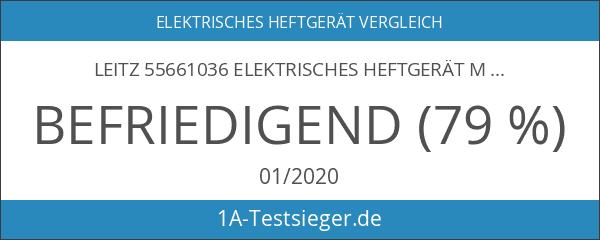 Leitz 55661036 Elektrisches Heftgerät Metallic