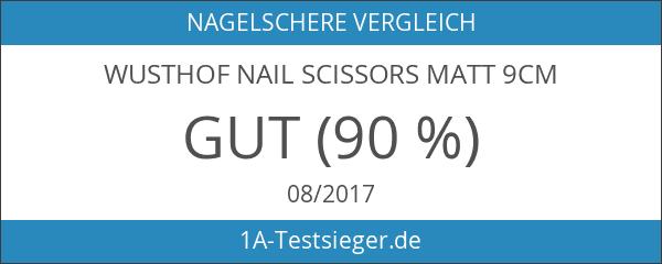 Wusthof Nail Scissors Matt 9cm