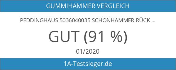 Peddinghaus 5036040035 Schonhammer Rückschlagfr. Kunststoff 35mm
