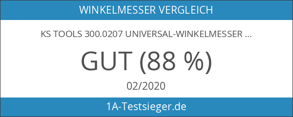 KS Tools 300.0207 Universal-Winkelmesser