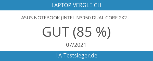 ASUS Notebook (Intel N3050 Dual Core 2x2.16 GHz
