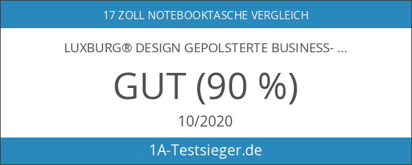 Luxburg® Design gepolsterte Business-