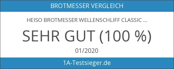 Heiso Brotmesser Wellenschliff Classic