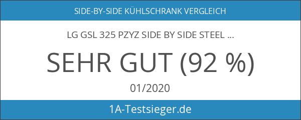 LG GSL 325 PZYZ Side by Side steel