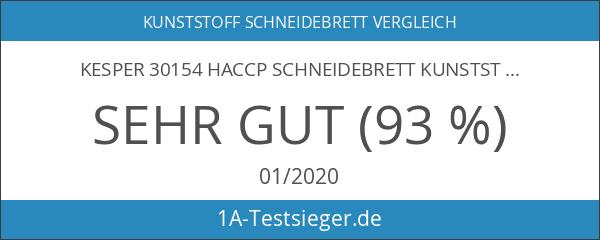 Kesper 30154 HACCP Schneidebrett Kunststoff 53x32x1