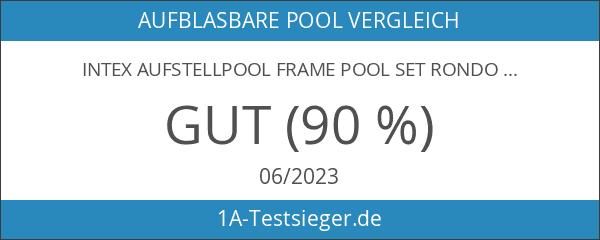 Intex Aufstellpool Frame Pool Set Rondo
