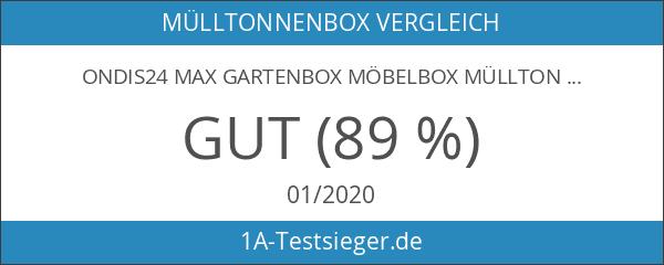 Keter Store It Out Max Gartenbox Mülltonnenbox Gerätebox Schuppen für