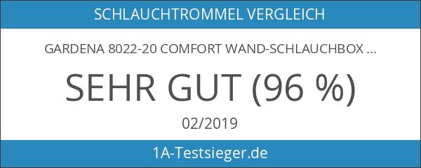 Gardena 8022-20 Comfort Wand-Schlauchbox 15 roll-up automatic