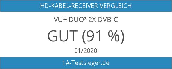 VU+ Duo² 2x DVB-C