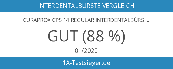 Curaprox CPS 14 regular Interdentalbürste orange