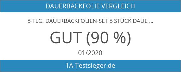 3-tlg. Dauerbackfolien-Set 3 Stück Dauer Backfolie EXTRA STARK!