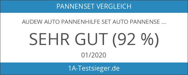 Audew Auto Pannenhilfe Set Auto Pannenset Pannenwerkzeugset Auto Sicherheit Kit