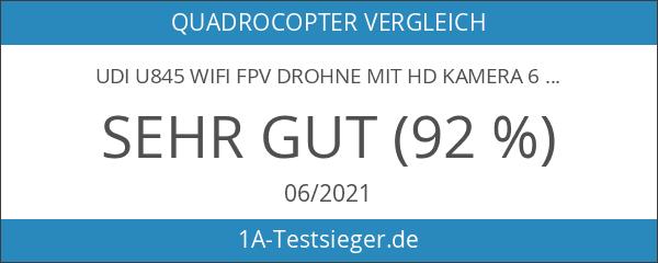 UDI U845 WIFI FPV Drohne mit HD Kamera 6-Kanal UFO