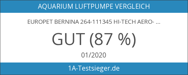 Europet Bernina 264-111345 Hi-Tech Aero-Kit Membranpumpe