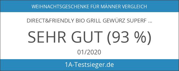 direct&friendly Bio Grill Gewürz Superfood Set - Geschenke für Männer