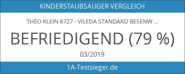 Theo Klein 6727 - Vileda Standard Besenwagen mit Staubsauger