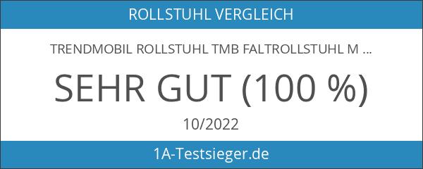 Trendmobil Rollstuhl TMB Faltrollstuhl mit Steckachsensystem Sitzbreite 48 cm Reiserollstuhl