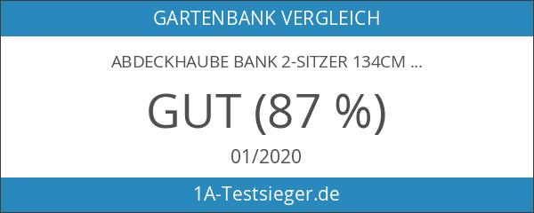 Abdeckhaube Bank 2-sitzer 134cm
