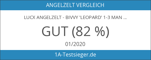 Lucx Angelzelt - Bivvy 'Leopard' 1-3 Mann
