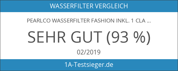 PearlCo Wasserfilter Fashion inkl. 1 classic Filterkartusche