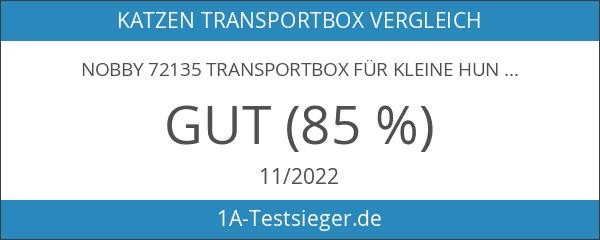 """Nobby 72135 Transportbox für kleine Hunde und Katzen """"Skudo 2"""