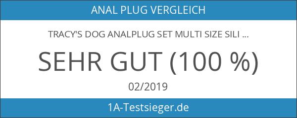 Tracy's Dog Analplug Set Multi Size Silikon Anal Butt Plug