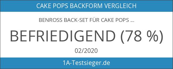 Benross Back-Set für Cake Pops