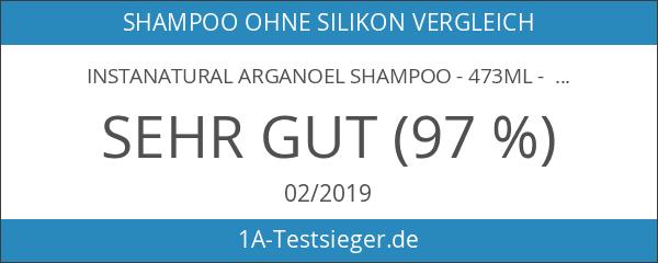 InstaNatural Arganoel Shampoo - 473ml - Beste holistische Behandlung für