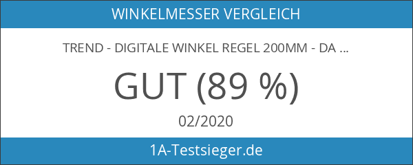 Trend - Digitale Winkel Regel 200mm - DAR