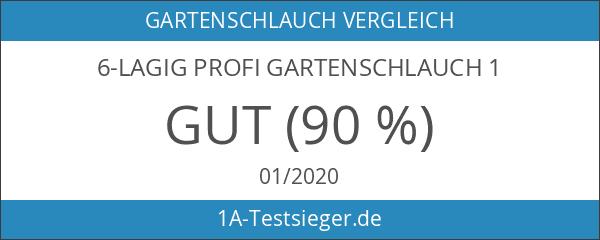 6-lagig Profi Gartenschlauch 1