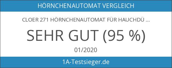 Cloer 271 Hörnchenautomat für hauchdünne