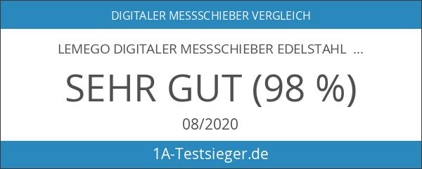 LEMEGO Digitaler Messschieber Edelstahl Werkzeug 150 mm