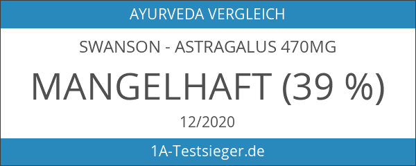 Swanson - Astragalus 470mg