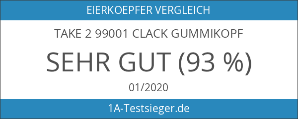 Take 2 99001 Clack Gummikopf