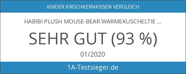 Habibi Plush Mouse-Bear Wärmekuscheltier 2 in 1