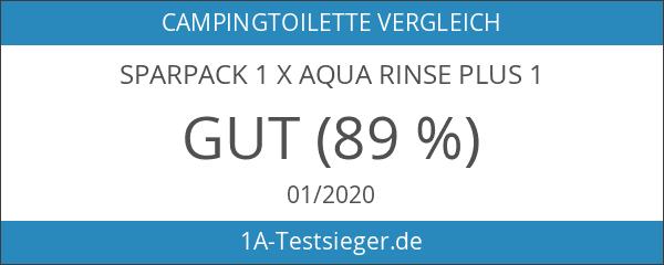 Sparpack 1 x Aqua Rinse Plus 1
