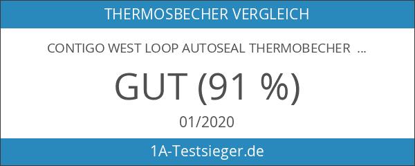 Contigo West Loop Autoseal Thermobecher 2.0-Neues Modell mit Deckel Lock-470ml